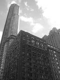 Edificios altos de Nyc Fotografía de archivo libre de regalías