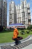 Edificios altos en Kolkata Imagenes de archivo