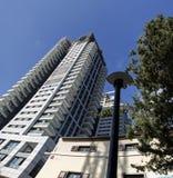 Edificios altos modernos Foto de archivo libre de regalías