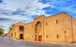 Edificios antiguos en la ciudad vieja de Bukhara, Uzbekistán fotos de archivo libres de regalías