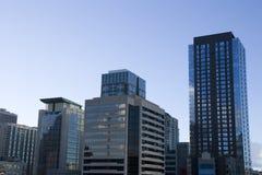 Oficinas de los edificios del negocio Imagen de archivo libre de regalías