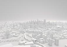 Edificios ARQUITECTÓNICOS de la ciudad, ejemplo 3d