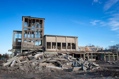 Edificios arruinados Imagenes de archivo