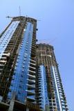 Edificios bajo construcción Foto de archivo libre de regalías