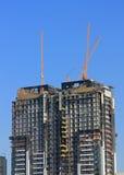 Edificios bajo construcción Imagen de archivo libre de regalías