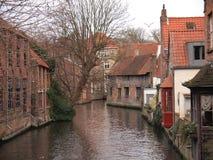 Edificios (Brujas, Bélgica) Imagen de archivo libre de regalías
