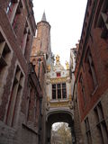 Edificios (Brujas, Bélgica) Fotos de archivo libres de regalías