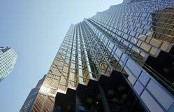 Edificios céntricos Imagenes de archivo