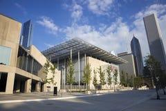 Edificios céntricos de Chicago imagenes de archivo
