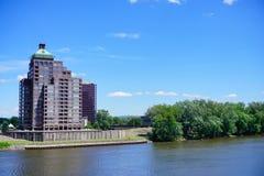 Edificios céntricos de Hartford Imagen de archivo libre de regalías