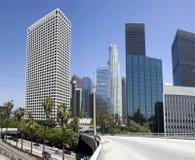 Edificios céntricos de la ciudad de Los Ángeles Fotografía de archivo libre de regalías