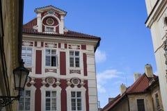 Edificios checos foto de archivo