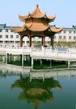 Edificios chinos Foto de archivo libre de regalías