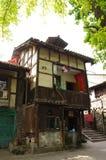 Edificios chinos viejos Chongqing Sichuan China Foto de archivo