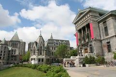Edificios clásicos de la universidad Imagen de archivo