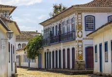 Edificios coloniales brasileños Fotografía de archivo libre de regalías