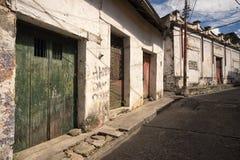 Edificios coloniales viejos en Honda Colombia fotografía de archivo libre de regalías
