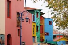 Edificios coloreados Foto de archivo