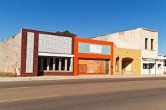Edificios coloridos Imágenes de archivo libres de regalías