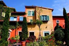 Edificios coloridos Foto de archivo