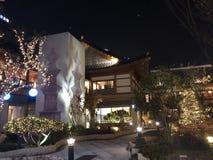 Edificios coreanos tradicionales en Inchon fotografía de archivo libre de regalías