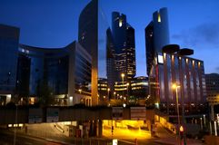 Edificios corporativos imagen de archivo libre de regalías