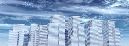 Edificios corporativos 06 Foto de archivo libre de regalías