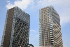 Edificios corporativos Fotos de archivo libres de regalías