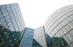 Edificios corporativos Foto de archivo libre de regalías