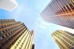 Edificios corporativos Imágenes de archivo libres de regalías