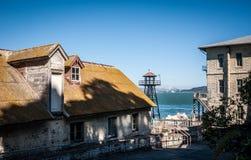 Edificios de Alcatraz Imagen de archivo