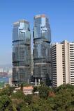Edificios de alta tecnología Fotografía de archivo