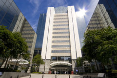 Edificios de alta tecnología Foto de archivo libre de regalías