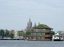 Edificios de Amsterdam Fotografía de archivo