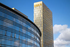 Edificios de Berlin foto de archivo