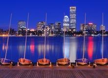 Edificios de Boston foto de archivo