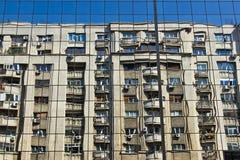 Edificios de Bucurest Fotos de archivo libres de regalías