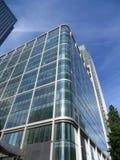 Edificios de Canary Wharf fotografía de archivo libre de regalías