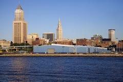 Edificios de Cleveland Imagen de archivo libre de regalías