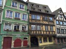 Edificios de Estrasburgo Fotos de archivo libres de regalías
