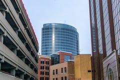 Edificios de Grand Rapids foto de archivo libre de regalías
