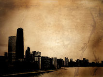 Edificios de Grunge libre illustration