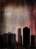 Edificios de Grunge en Chicago