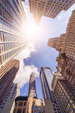 Edificios de highrise de la oficina Fotos de archivo libres de regalías