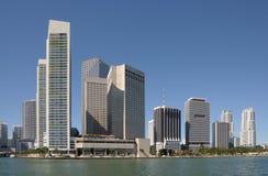 Edificios de Highrise en Miami Foto de archivo