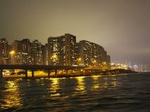 Edificios de Hong-Kong Imágenes de archivo libres de regalías