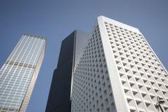 Edificios de Hong-Kong Foto de archivo