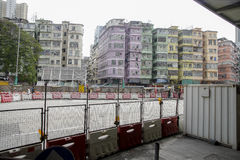 Edificios de Hong-Kong Imagen de archivo libre de regalías