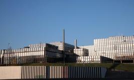 Edificios de instituciones europeos Imagen de archivo libre de regalías