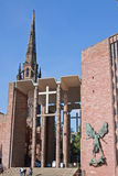 Edificios de la catedral de Coventry fotografía de archivo